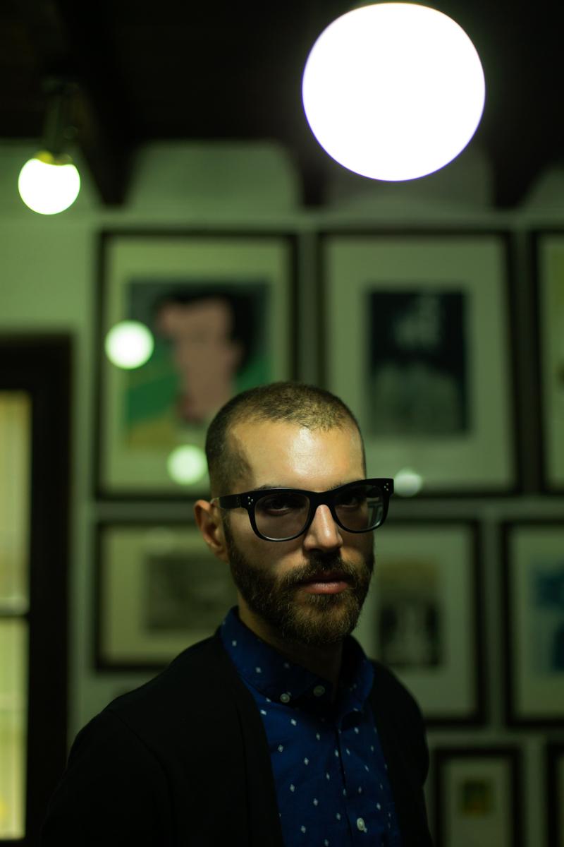 Emiliano Ponzi ritratto da Alberto Gottardo