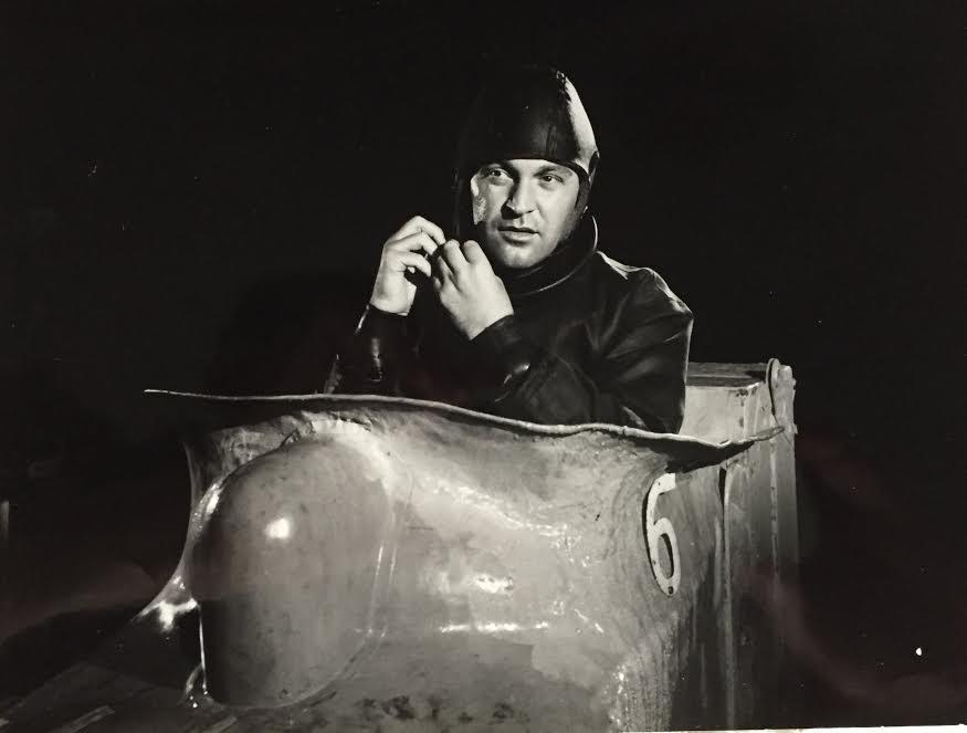 Franco Fabrizi in una scena di un film