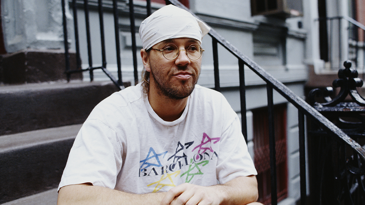 American novelist David Foster Wallace (1962 - 2008), New York City, 2005. (Photo by Janette Beckman/Getty Images)